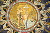 Ravenna 2017 – Battistero Neoniano – Jesus baptisted by John the Baptist