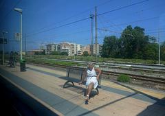 Photo de mon amie Nora : HBM in viaggio !