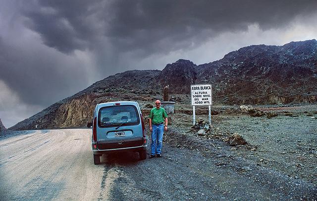 Ruta 51 - Abra Blanca pass - 4080 m