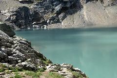 Lac de l'Eychauda (Parc national des Ecrins, Hautes-Alpes)