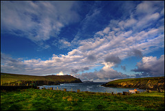 Early Morning at Clogher Beach