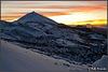 Sonnenuntergang hinter dem Teide
