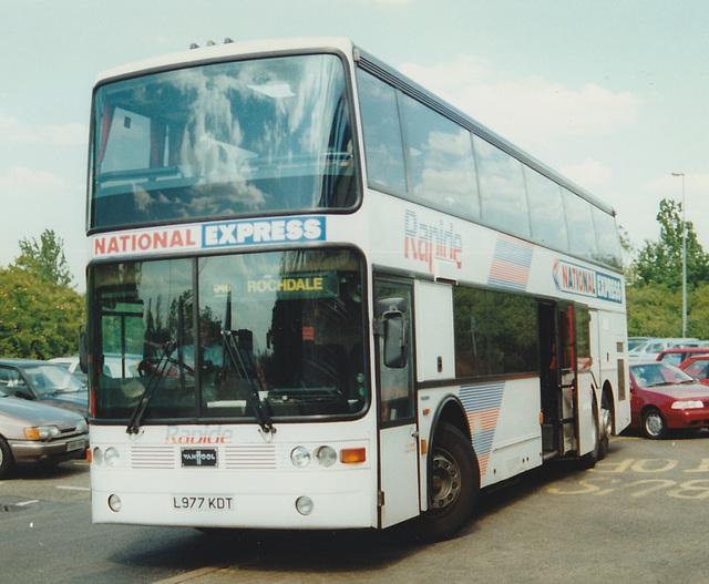 Trathens L977 KDT at Milton Keynes Coachway - 2 Jun 1997