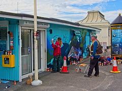 Street Artists at Work (+PiP)