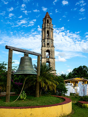 The tower at Manaca Iznaga estate, Trinidad, Valle de los Ingenios, Cuba