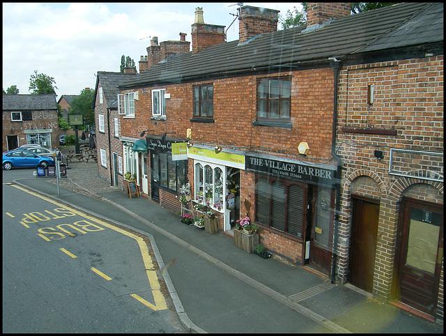 Davenham village street