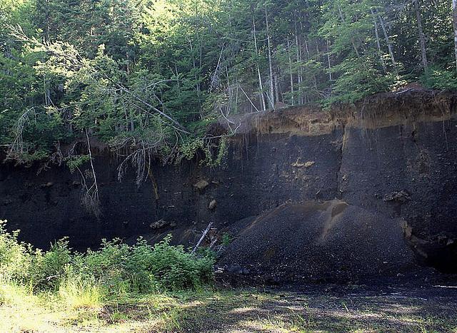 Sous-sol volcanique