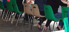 Mérial - Chaises et talons hauts  / Heels amongst chairs - Recadrage