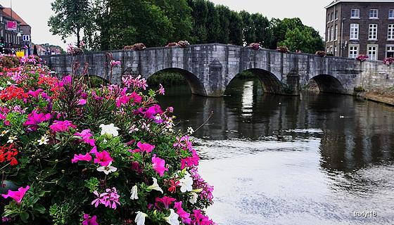 Roermond, brug over de Roer