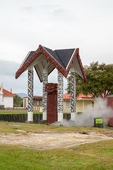 Neuseeland - Rotorua - Ohinemutu