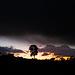 Penedos, Night fells and rain comes...