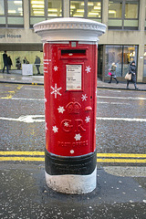 Singing Post Box, North Hanover Street Entrance to Queen Street Station, Glasgow