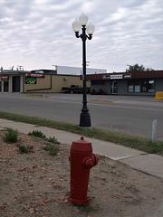 Echo hydrant / Borne-fontaine dans l'écho