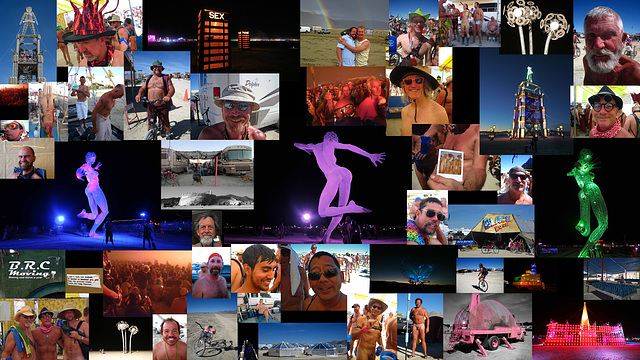 2010 Burning Man Collage