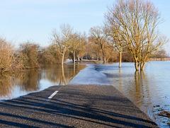 les inondations par chez moi...