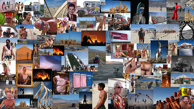 2009 Burning Man Collage