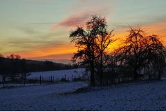 Ein magischer Sonnenuntergang - A magical sunset