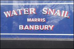 Water Snail - Banbury