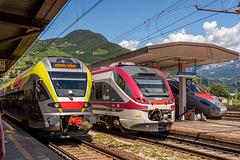 10 - Railway traffic - Bolzano/Bozen railway station