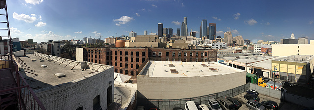 Los Angeles from the Catalina Swimwear Building (1010)