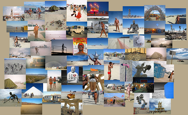 2007 Burning Man Collage
