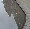 puddle reflections ...