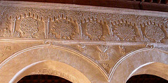 Qayrawan mosque carved plaster