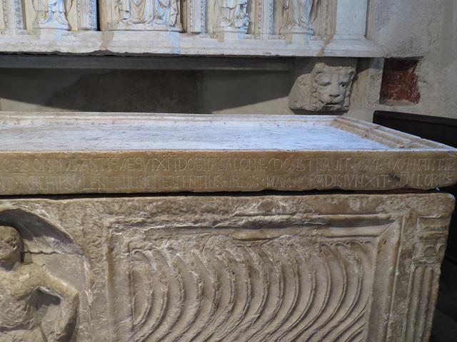 """Sarcophage """"de Domnius""""."""