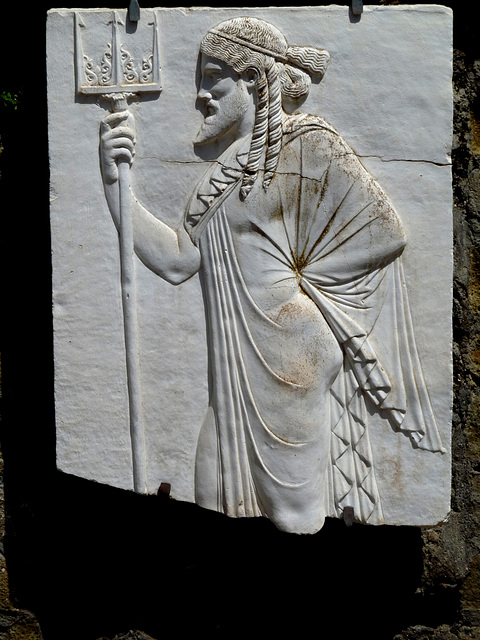 Herculaneum- Sacello dei Quattro Dei (Neptune)