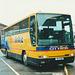Bluebird Buses (Stagecoach) VLT 54 (J430 HDS) (Scottish Citylink contractor) at Aberdeen - 27 Mar 2001