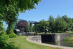 Nederland - Zwolle, brug Katerveersluizen