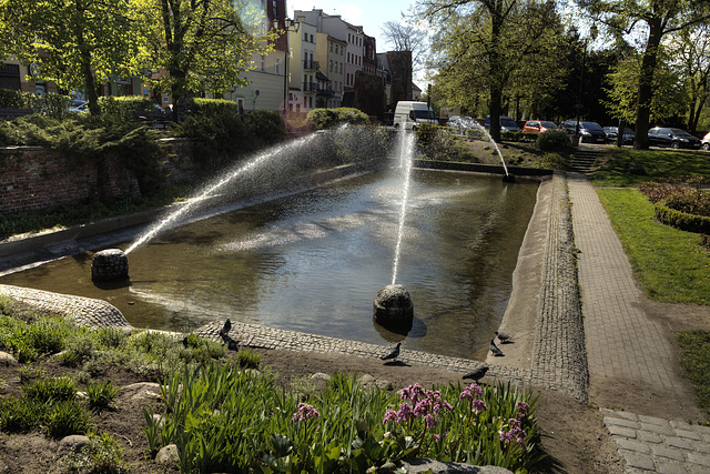 Fontannę - Plac Rapackiego