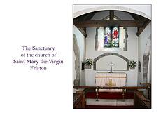 The Sanctuary St Mary's Friston 23 4 2013