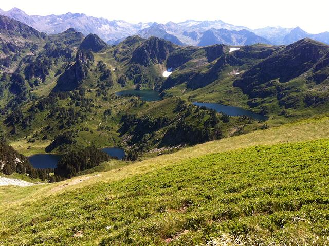 Lac noir et lac bleu