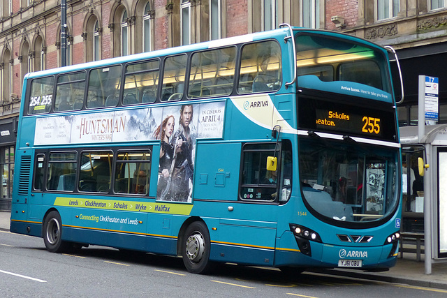 Buses around Leeds (6) - 24 March 2016