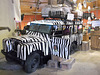 Véhicule zébré / Zebra fahrzeug