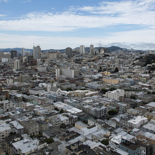 Name the U.S. city!, answer: San Francisco.
