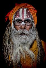 sadhu in Kathmandu