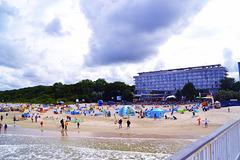 Strand in Kolobrzeg Kolberg