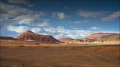 riding through desert lands