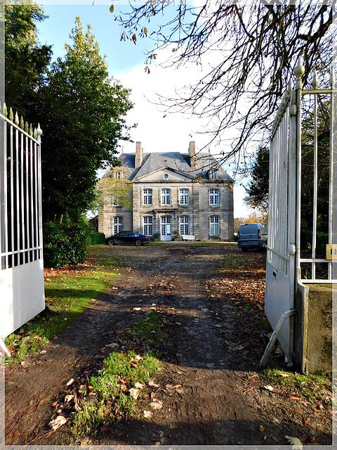 Le Château de Vaulérault à Saint Meloir des ondes (35)
