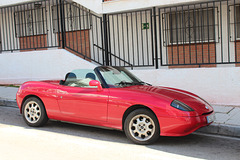 Fiat Barchetta, NERJA, SPAIN.