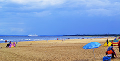 Strand in Swinoujscie Swinemünde