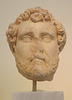 Portrait Head of Antoninus Pius from Athens in the National Archaeological Museum of Athens, May 2014