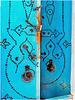 Kairouan : una porta nel souk molto sicura...con 3 lucchetti !!