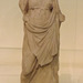 Statuette of Hygieia Dedicated by Lysimachos in the National Archaeological Museum in Athens, May 2014