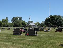 Sex on cemetery