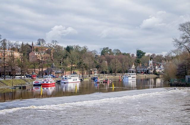 River Dee weir