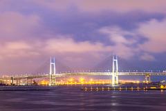 Japan - Yokohama -Yokohama-kō view from Ōsanbashi Pier