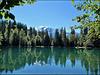 Plateau d'Assy (74) Le Lac Vert.
